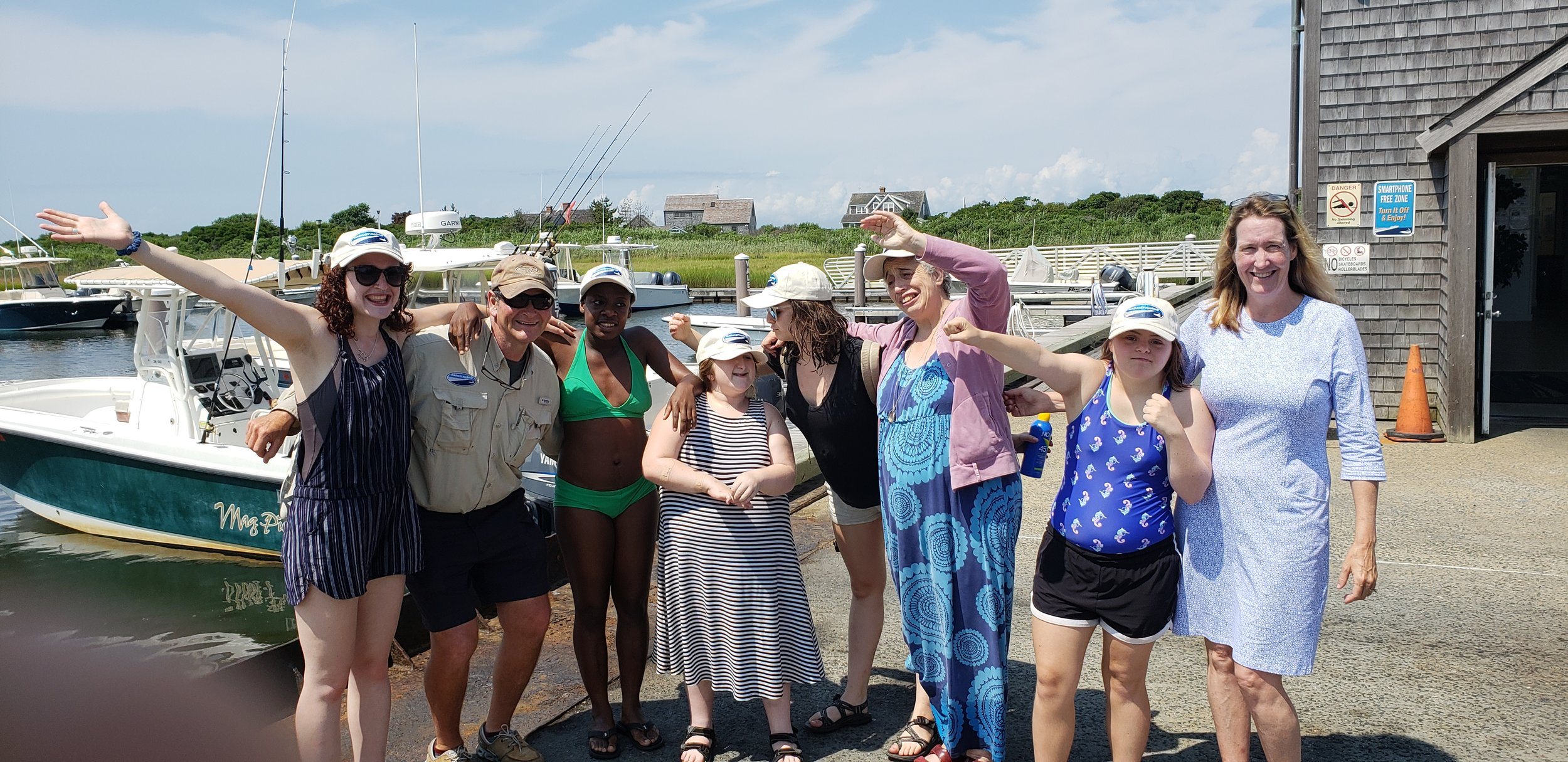 Day 5 boating crew!