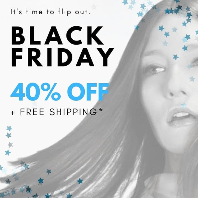 🎁🎁🎁That's right friends, we're celebrating #blackfriday right! 40% OFF select flat irons, dryers and brushes until 11/25! Plus FREE SHIPPING on all order $100+! #bestdeals #hairsales #flatironsale #giftsonsale #professionaltools #prostylingtools #hairstylingtools #yyz #hairgoals #beautytools #salonstyling