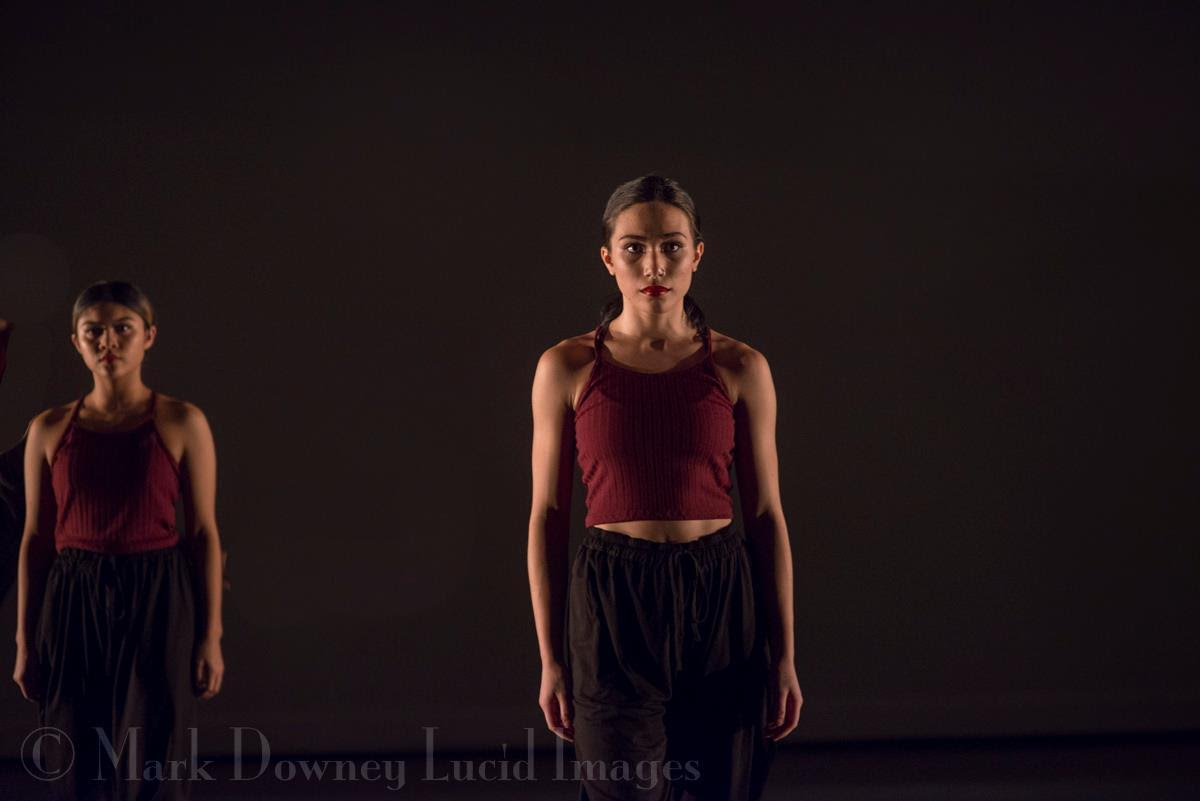Dancers Jenelle and Malaya.