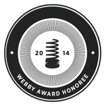 2014 Webby Award                          Honoree