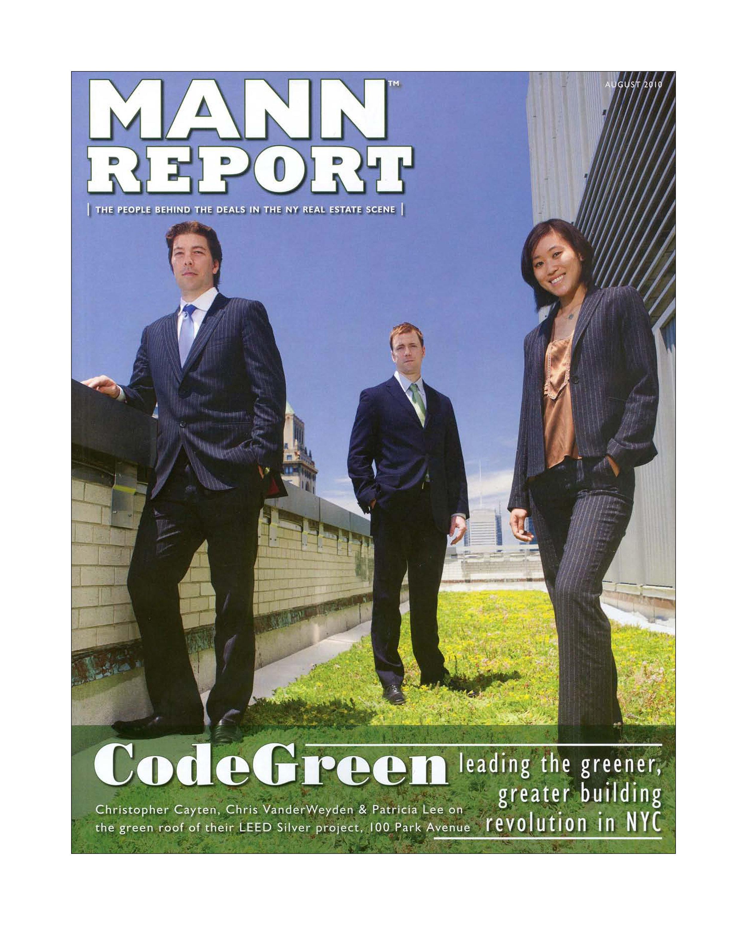 2010 Mann Report - August