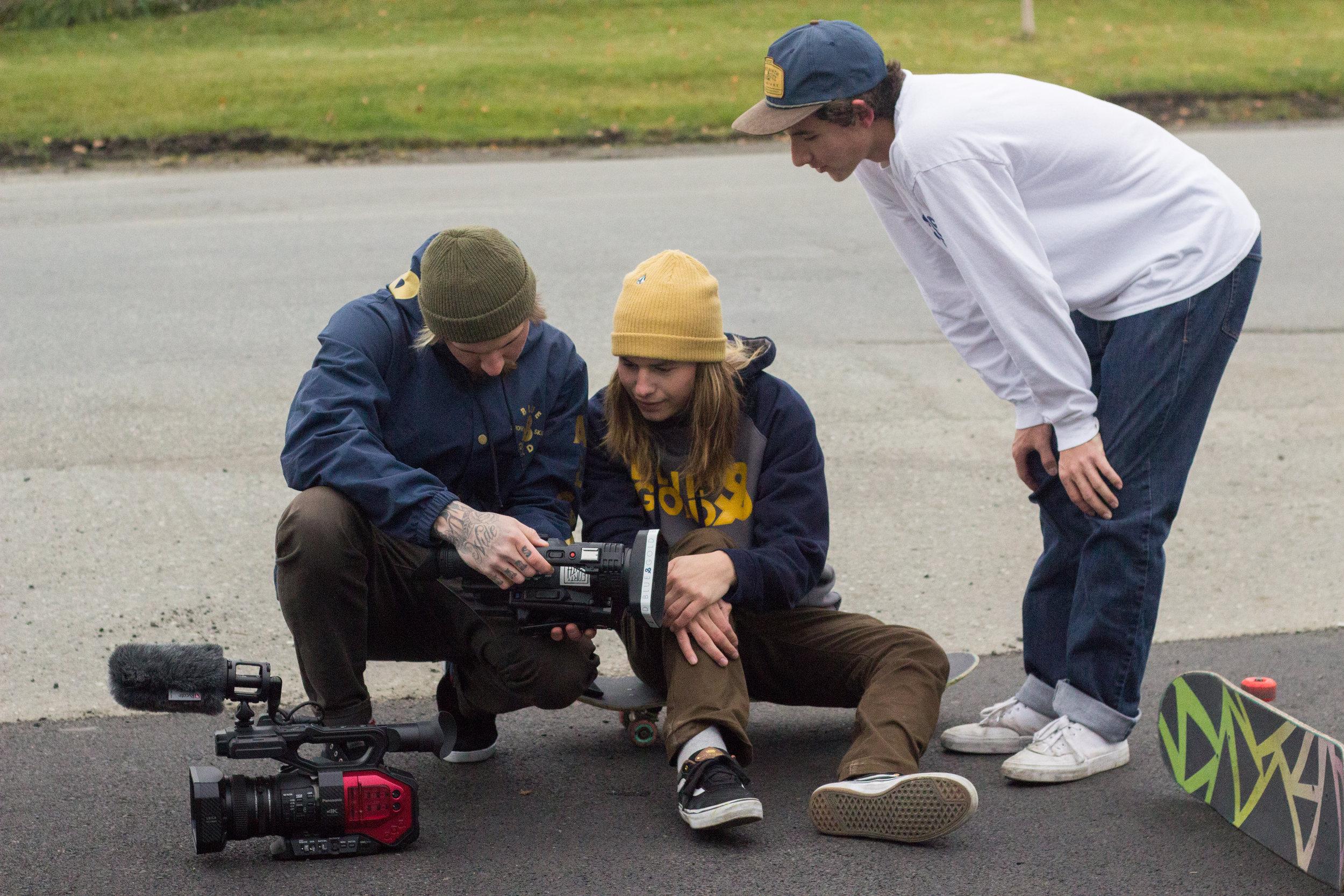 Kris Marshall, Dakota McKenzie, Caleb Kinnear / Photo by Shannon Evans