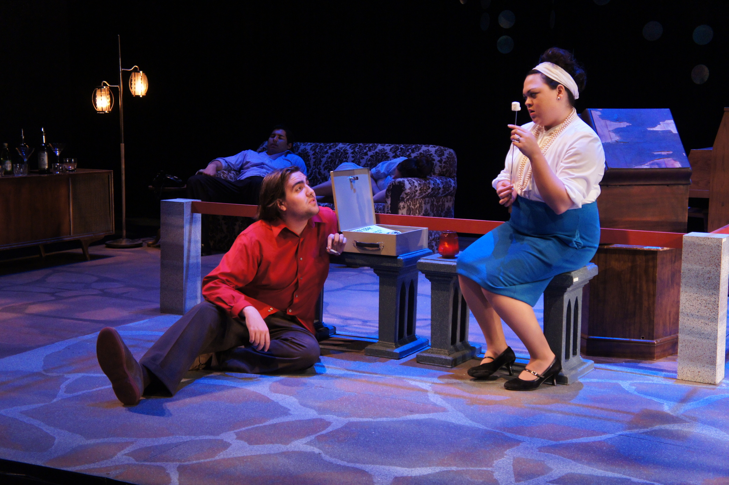 For the Falls   University of Iowa New Play Festival  Director: Tlaloc Rivas