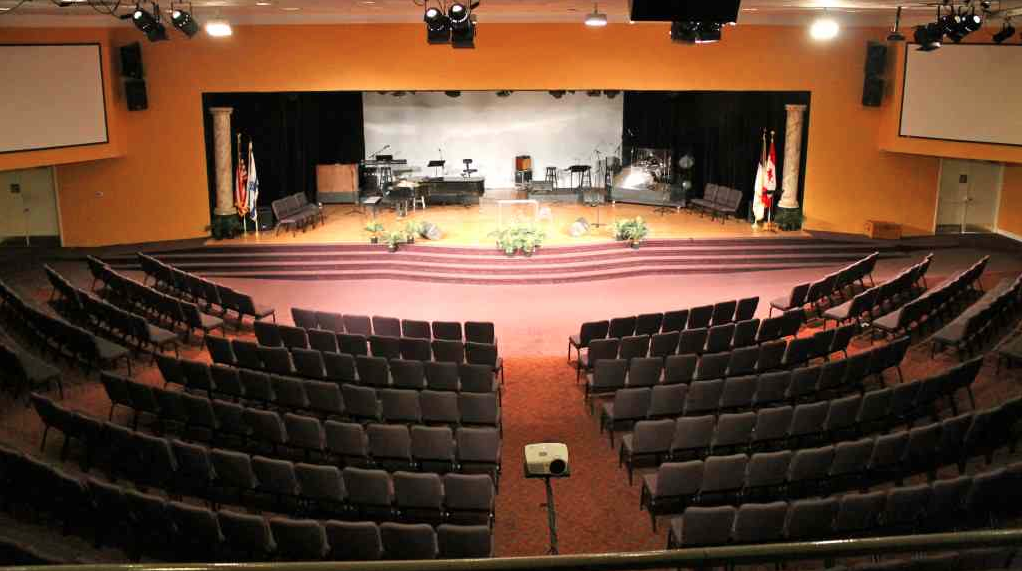 stage before camp