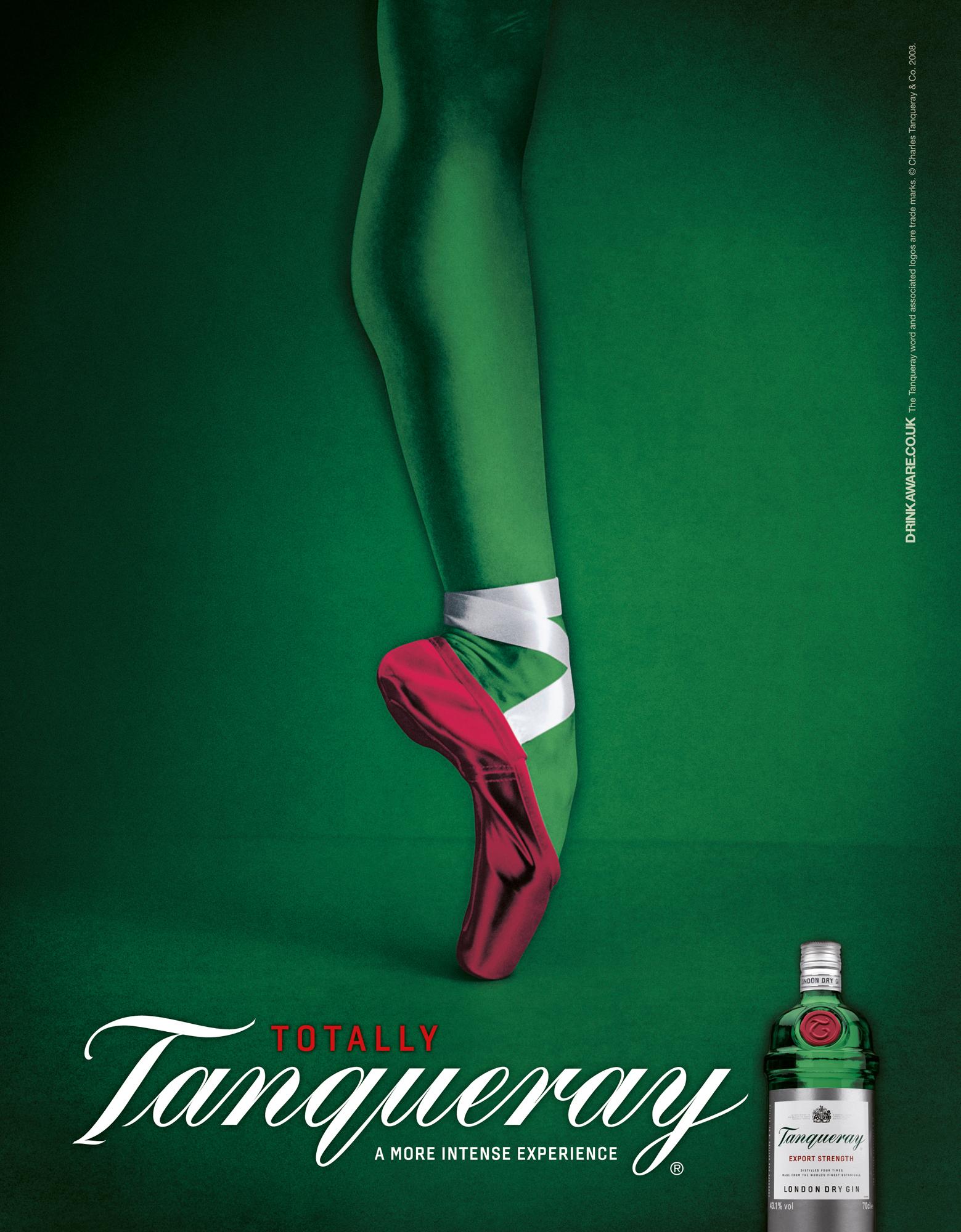 Tanqueray Ballet Dancer