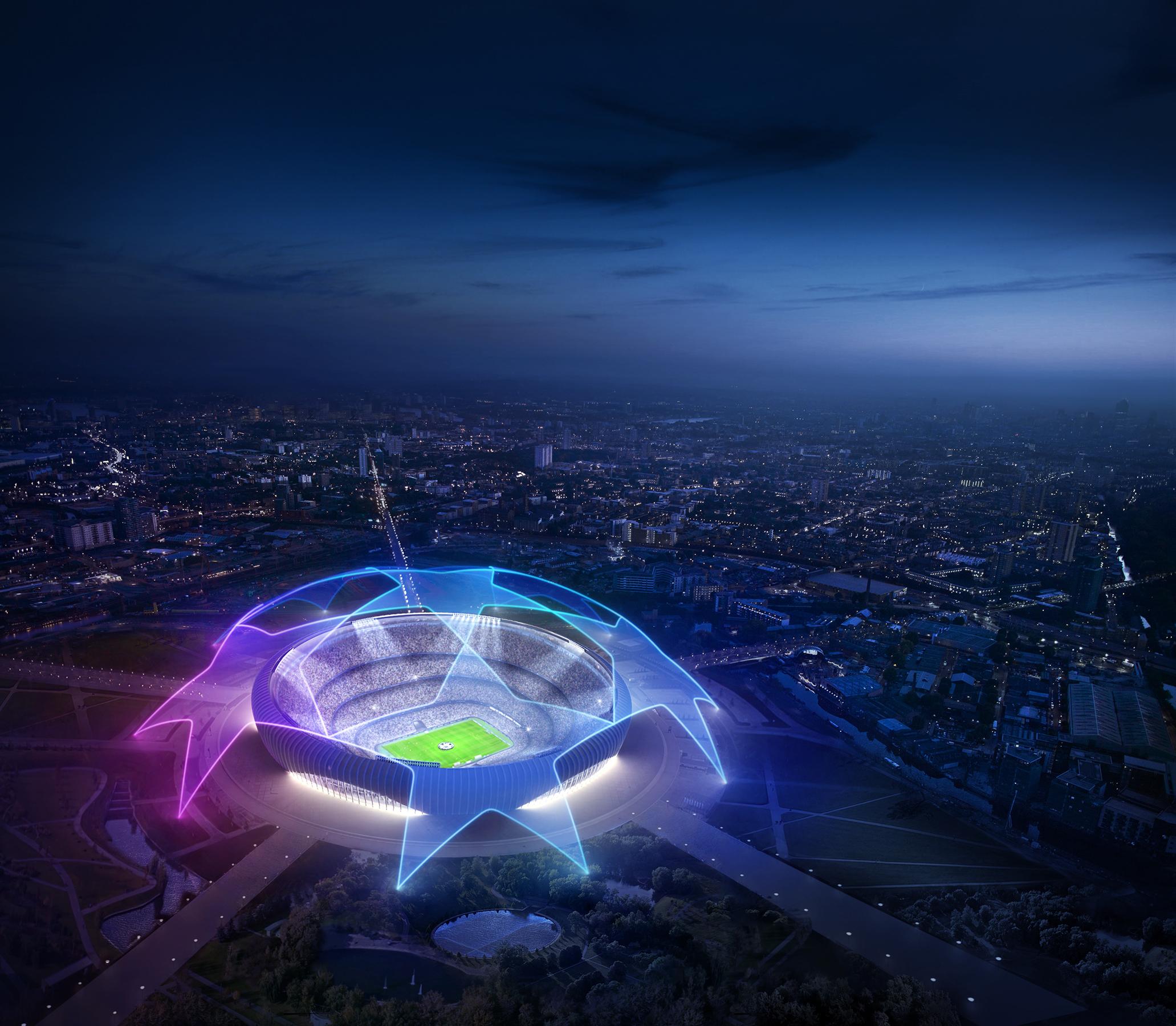 UEFA Champions League - pitch