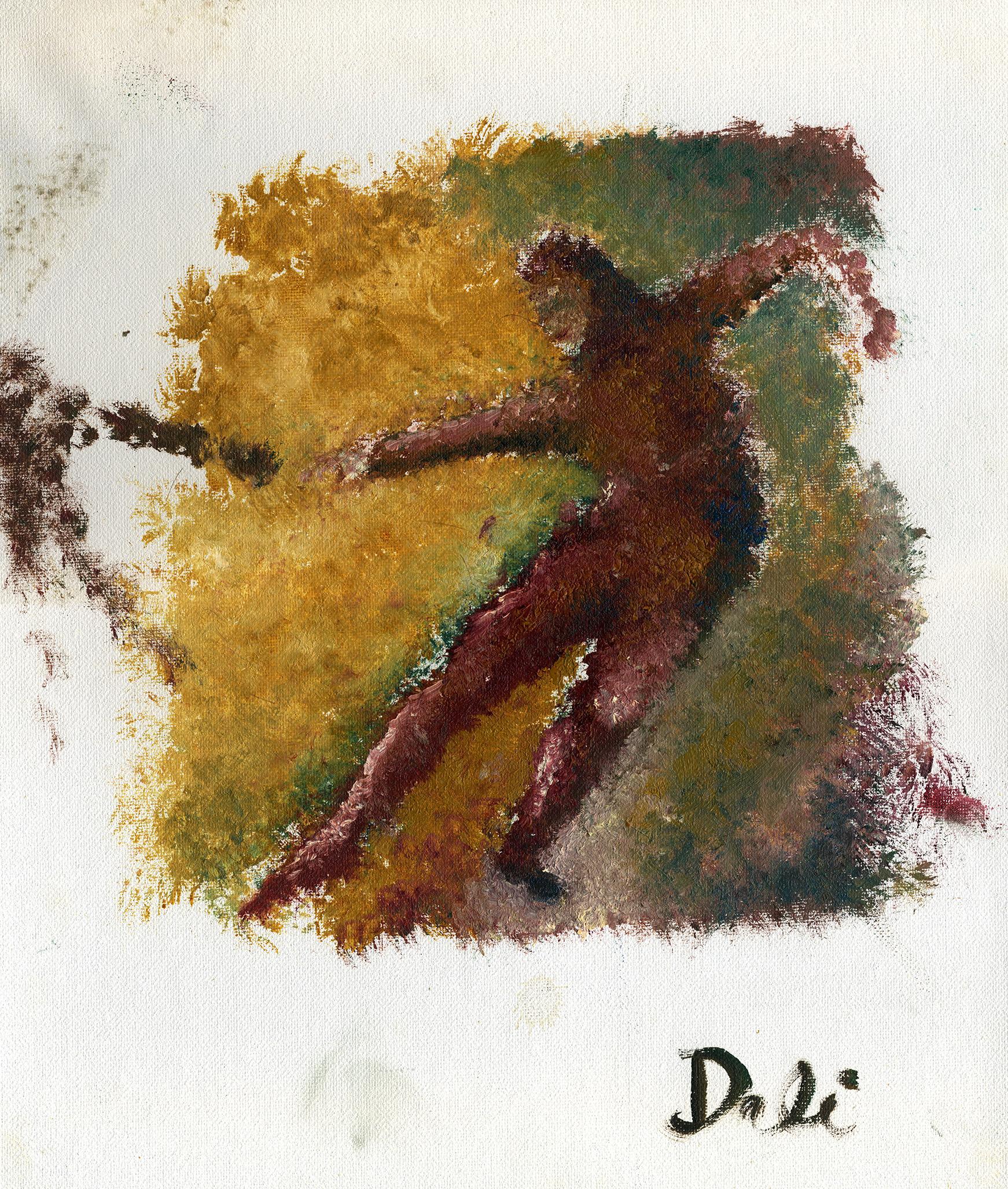 THE DANCER (1996) Acrylic.