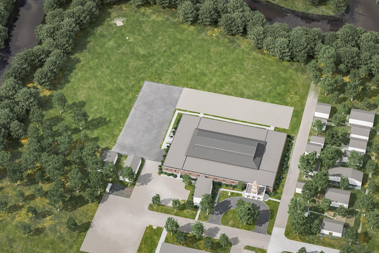 Final site rendering