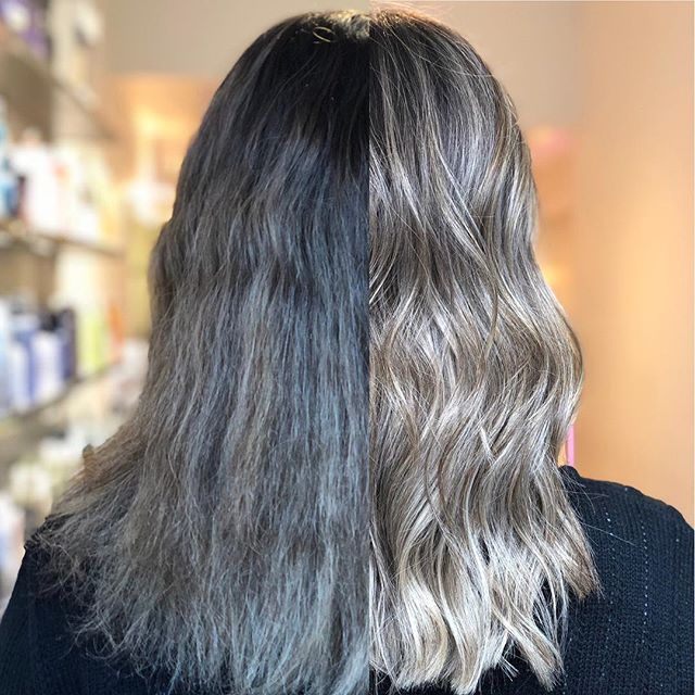 Brightened up this look with a #livedincolor and put in some soft textured layers to make the shape more modern. #livedinhair #hamont #aveda #bumbleandbumble #lorealprocanada #redken #shadeseq #hottoolspro #ibizabrushes