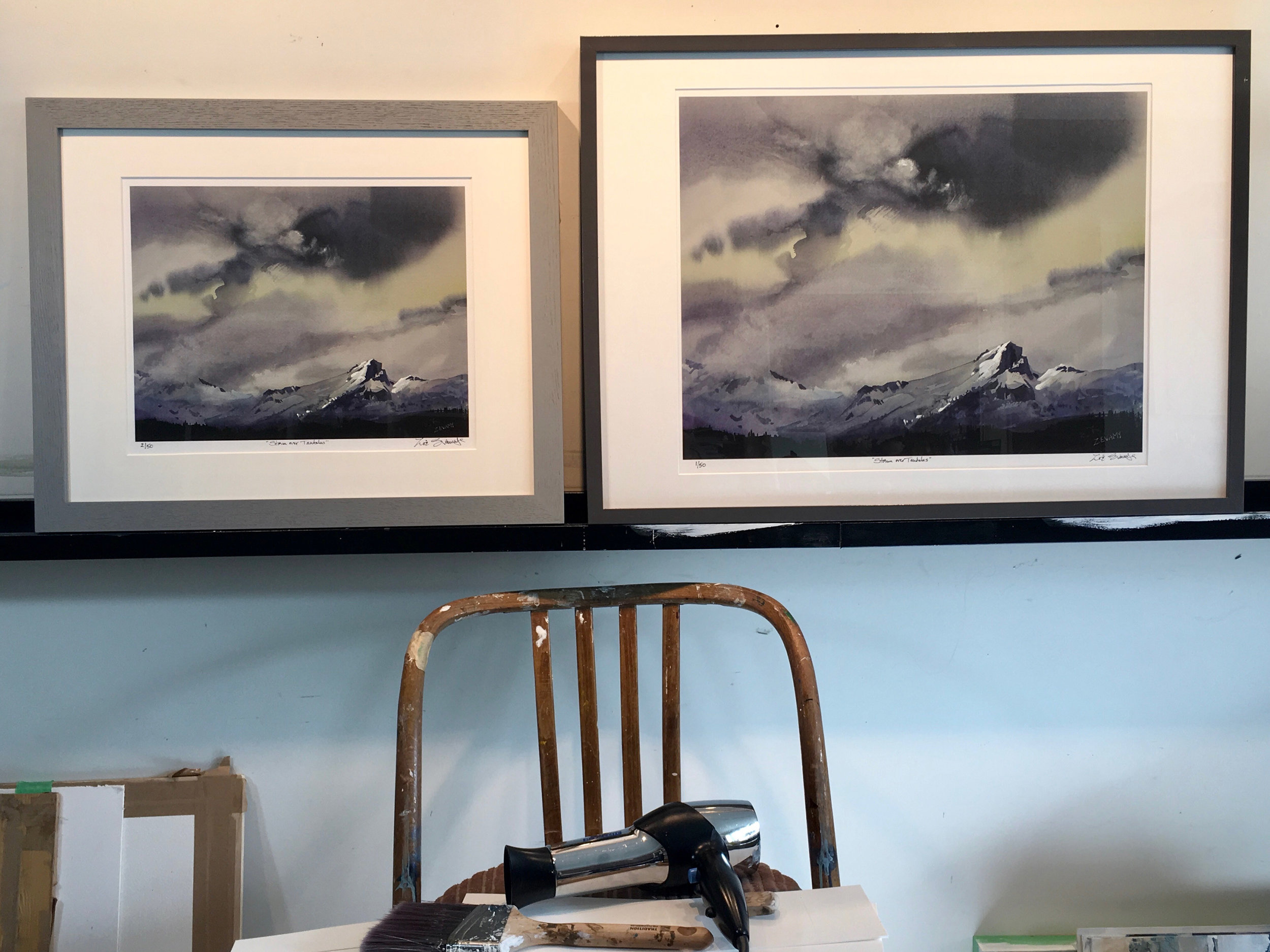 "Archival prints shown in 2 sizes 11""x14"" and 16""x20"""