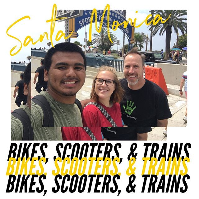 Highlights of our Santa Monica Travel Adventure Day! Got to see local artisans, skateboarders, and athletes showing off their prowess as we tooled around the beach using a variety of transportation means (including Joel and Natalie trying out a tandem bike)! • • • #kaleoteens #SummerattheTC #kaleoteens #empowerment #changemindset #knowyourself #freshopportunities #worldimpactinc #socal #southerncalifornia #losangeles #la #layouth #lateens #losangelesteens #southla #santamonica #mta