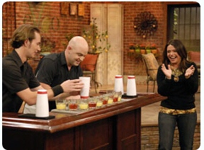 micah-dew-dave-simpson-extreme-bartending-demonstration-interview-rachael-ray-tv-show.JPG