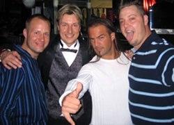 Rob Husted, Scott Young, Christian Delpeche Legends World Bartending Championship