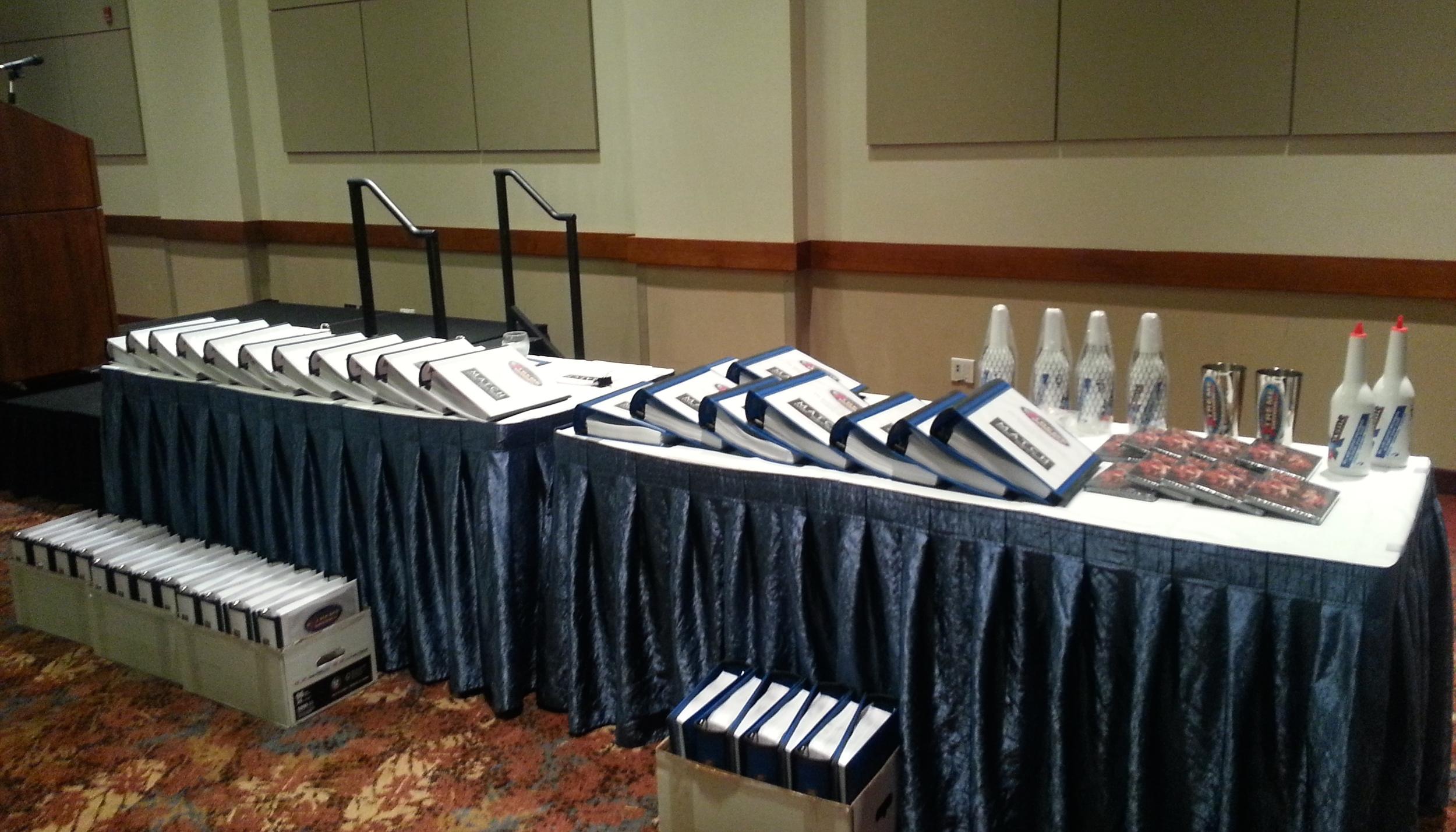 New HUGE Master-Class Training Manuals. Blue=Bartenders White=Server/Waiter/Waitress
