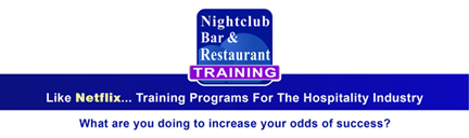 nightclubbarandrestauranttraining.com logo like netflix training programs for hospitality industry