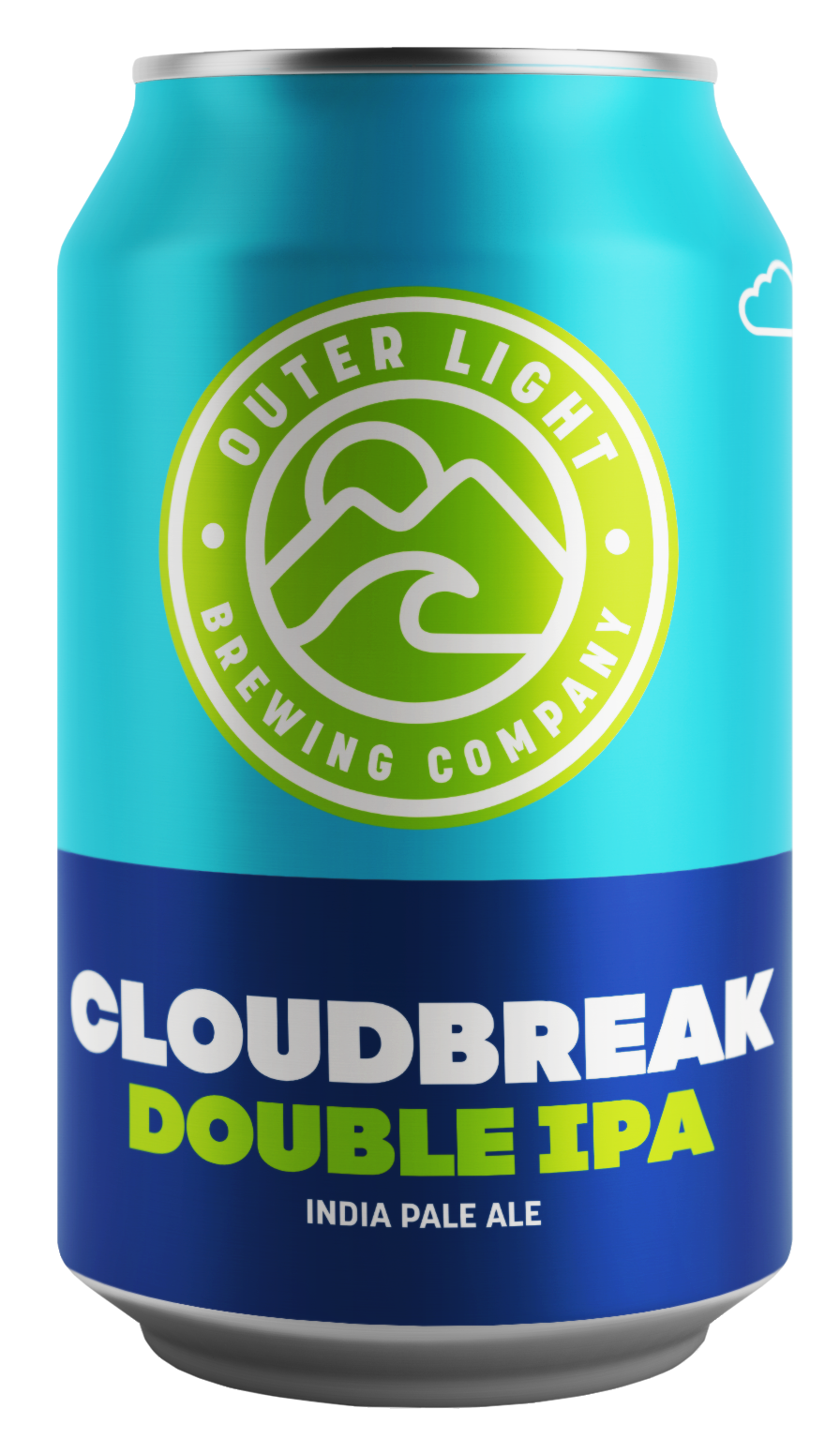 - Cloudbreak™ Double IPAOur Double IPA features light malt and a hazy appearance that suddenly yields to bright, big hop flavor. Pacific hops impart notes of papaya, berry and black tea with an enticing tropical fruit aroma. One sip will part the clouds and lead you to the summit of flavor. 8.5%, Lots of IBU; Hops: Idaho 7, Mosaic; Malts: Pisner, Oats, Carapils, Acidulated