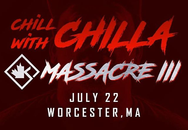 Only a few days left to enter!!! #Mass3 is going to be event of the year! Enter to won't 2tickets to the event plus some other cool shit! Head to ChillaJones.com for more info. Promocode: LILMAC10  gets you a Lil' discount! #Kingpen #ChillwithChilla #Bosstown #KOTD