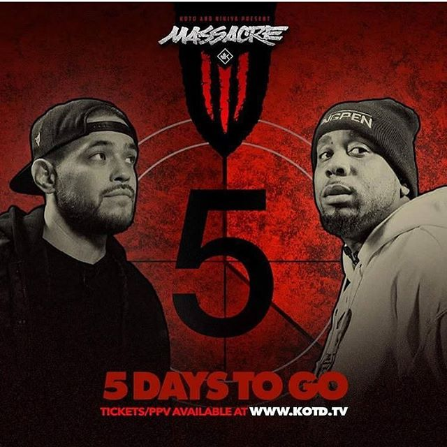 #KOTD #Mass3 5 days away!!! Tickets / PPV at kotdtv.com