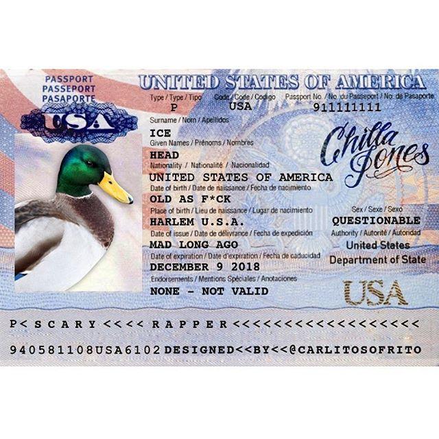 #DuckTee .... #AndNew #KingPenOfTheDot #ChillaJones