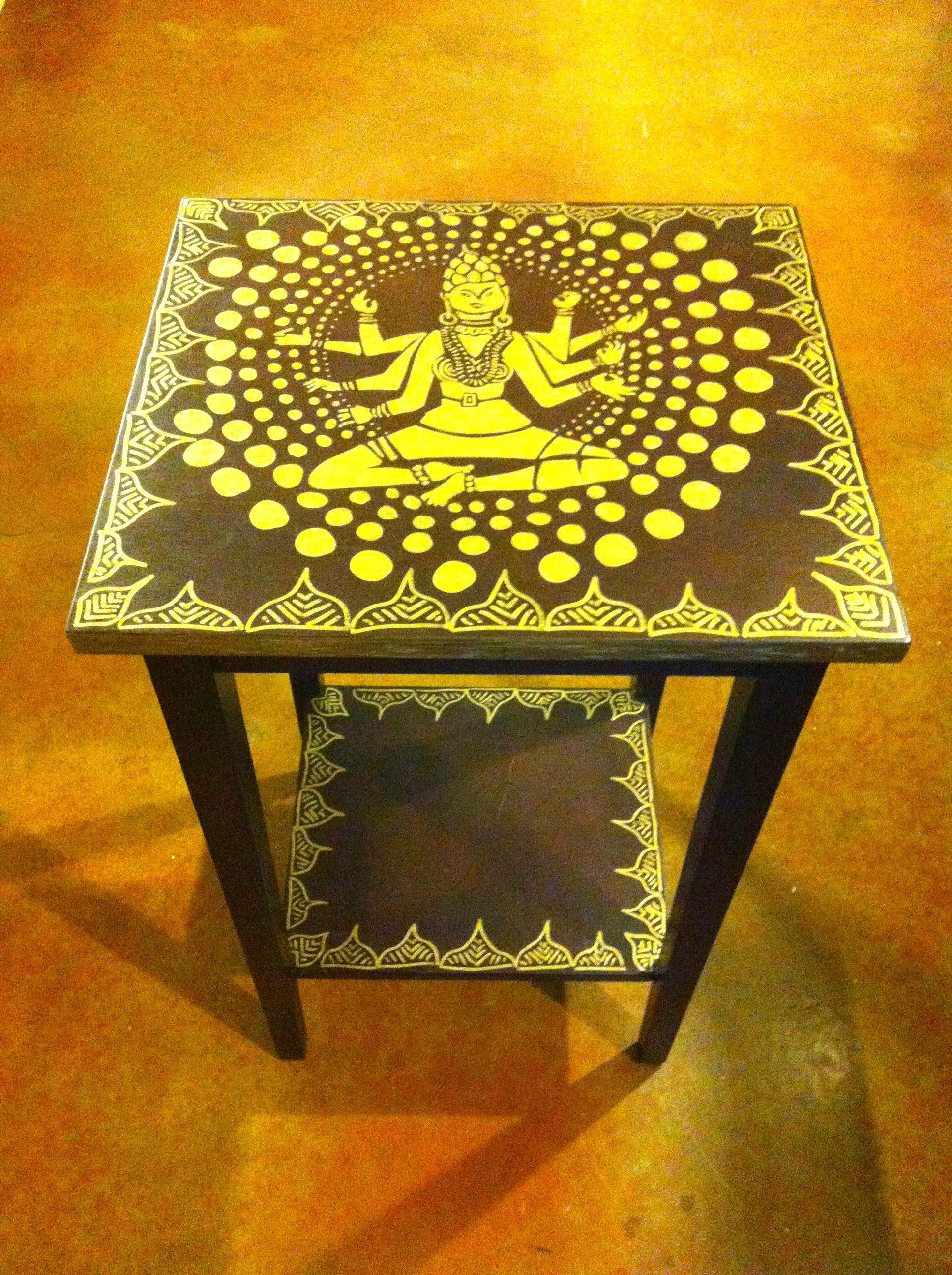 hand painted goddess table.jpg