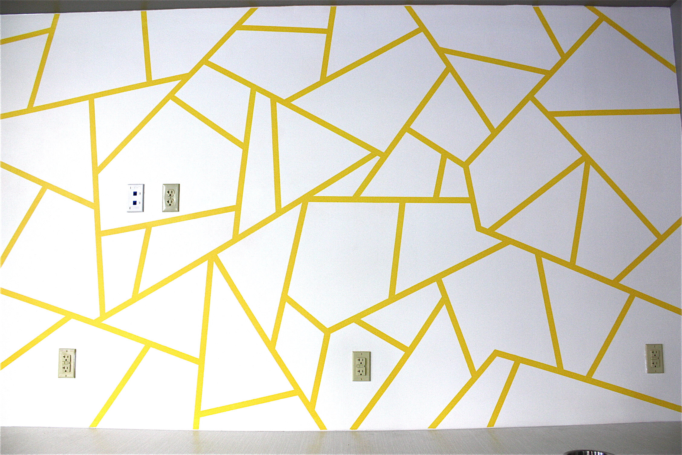 Easy Paint Designs With Tape
