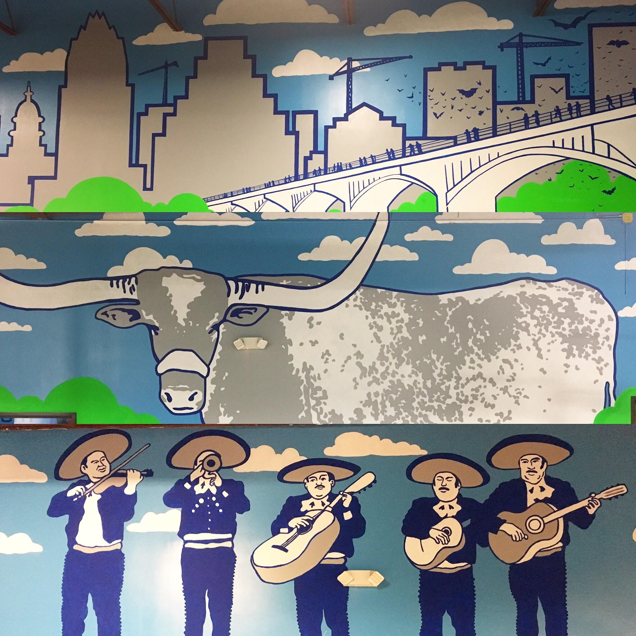 Dart'Em Up Nerf Gun Arena Murals, Austin