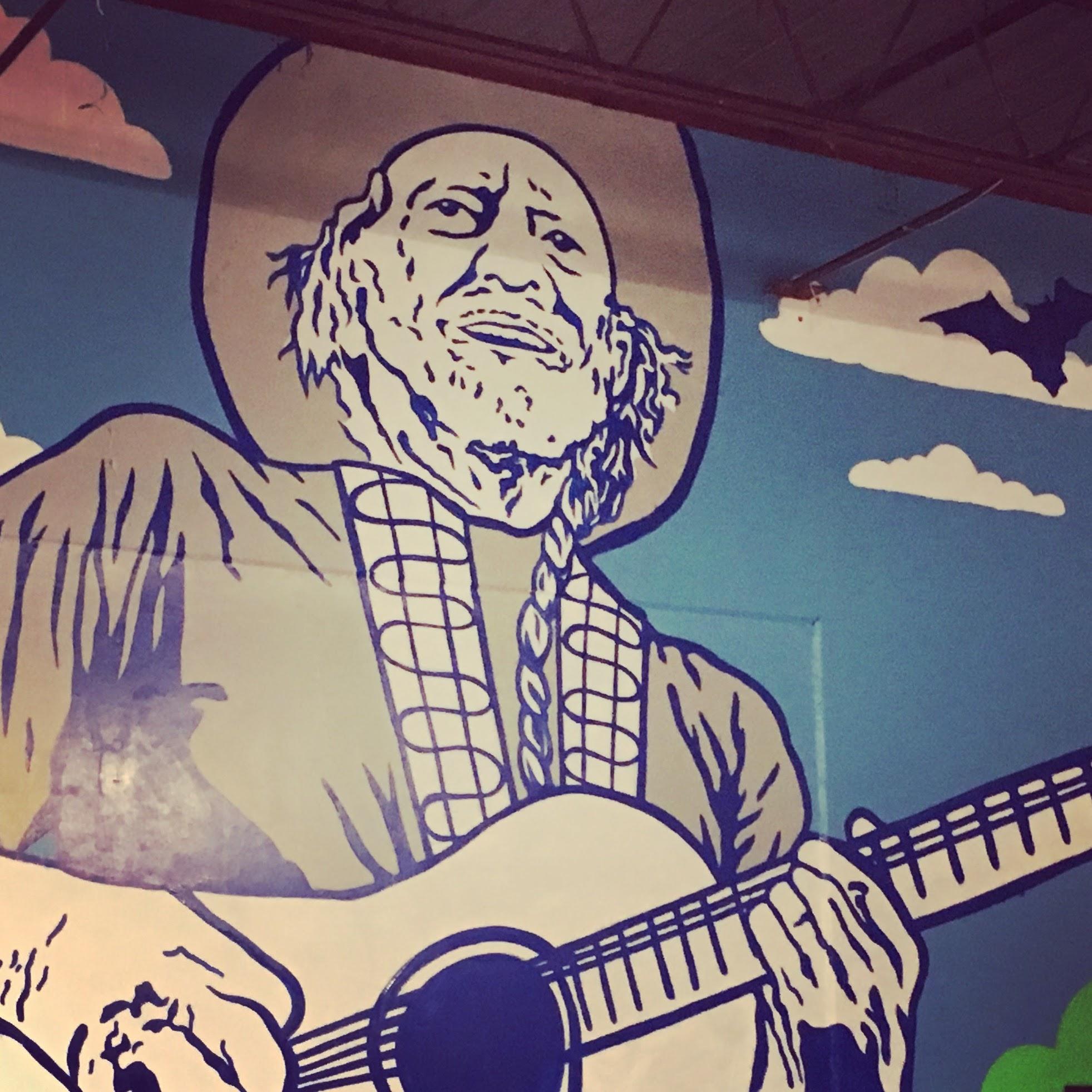 Dart'Em Up Nerf Gun Arena Mural, Austin