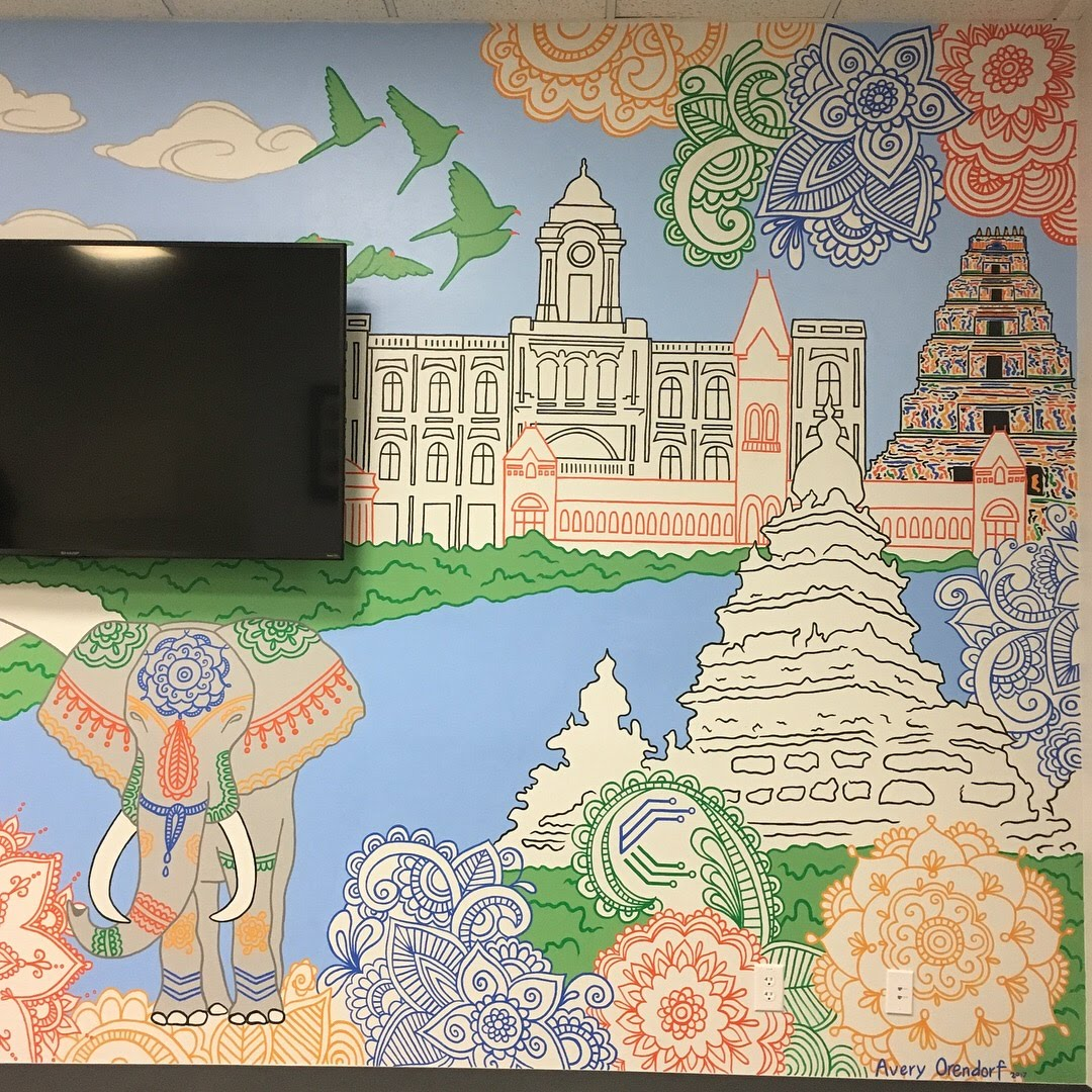 Cobra Legal Solutions Office Mural, Austin