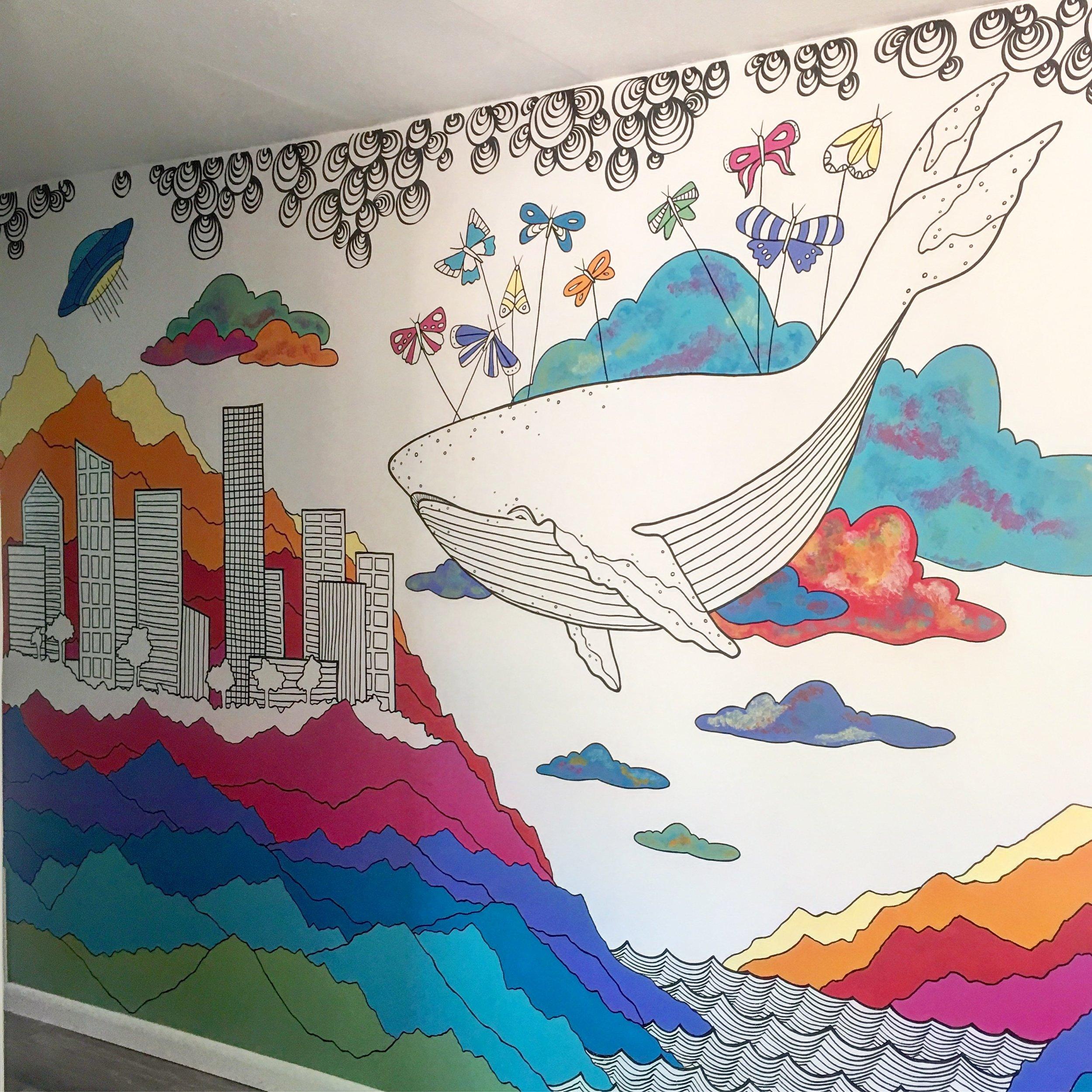 Figment Creative Labs Mural, Austin