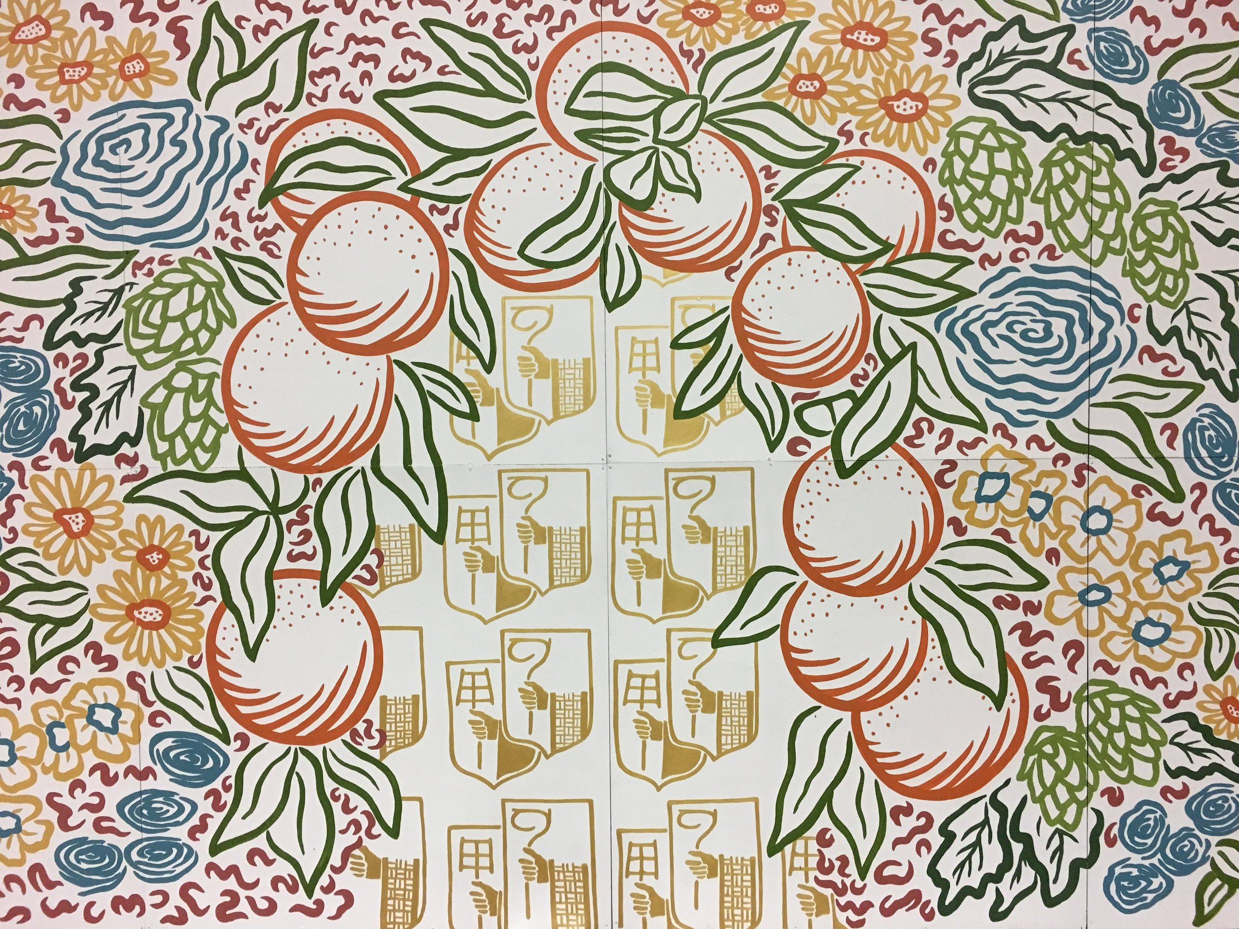 Hoegaarden Photo Backdrop Mural