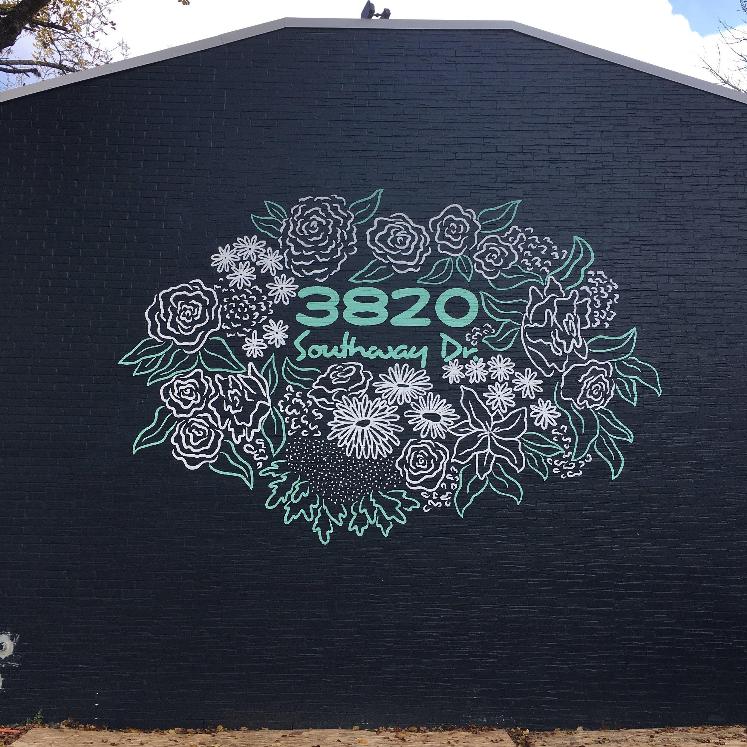 Condo Address Mural, Austin