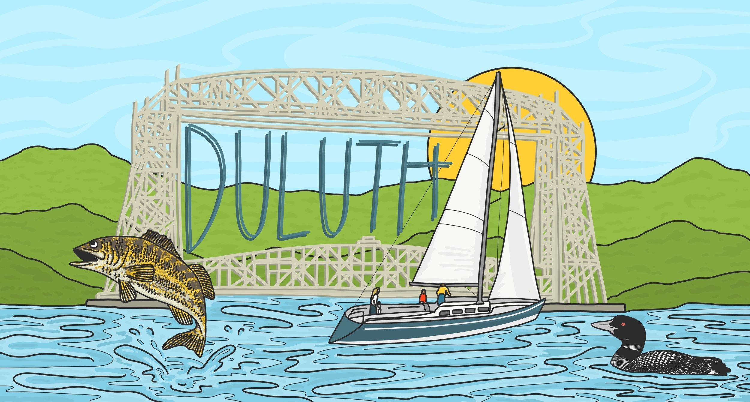 Tru Duluth Mural