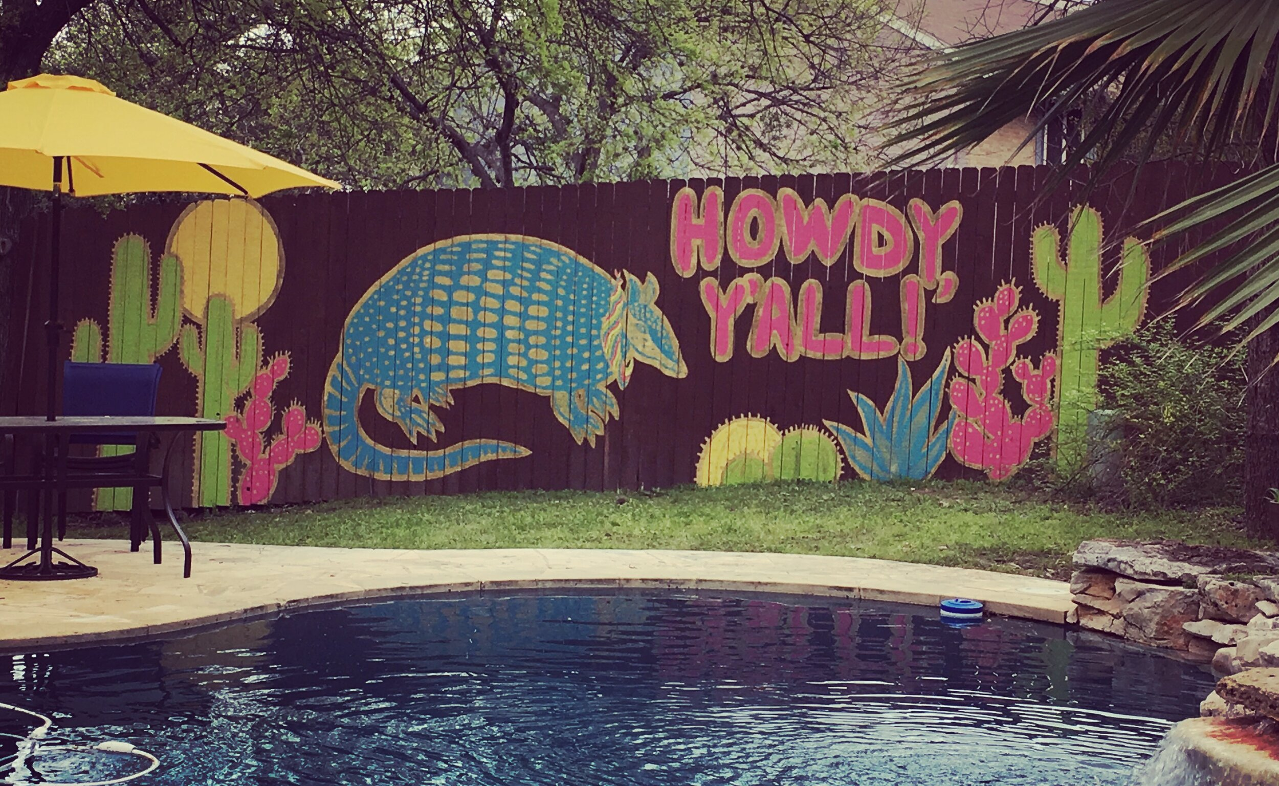 Fence Mural, Austin