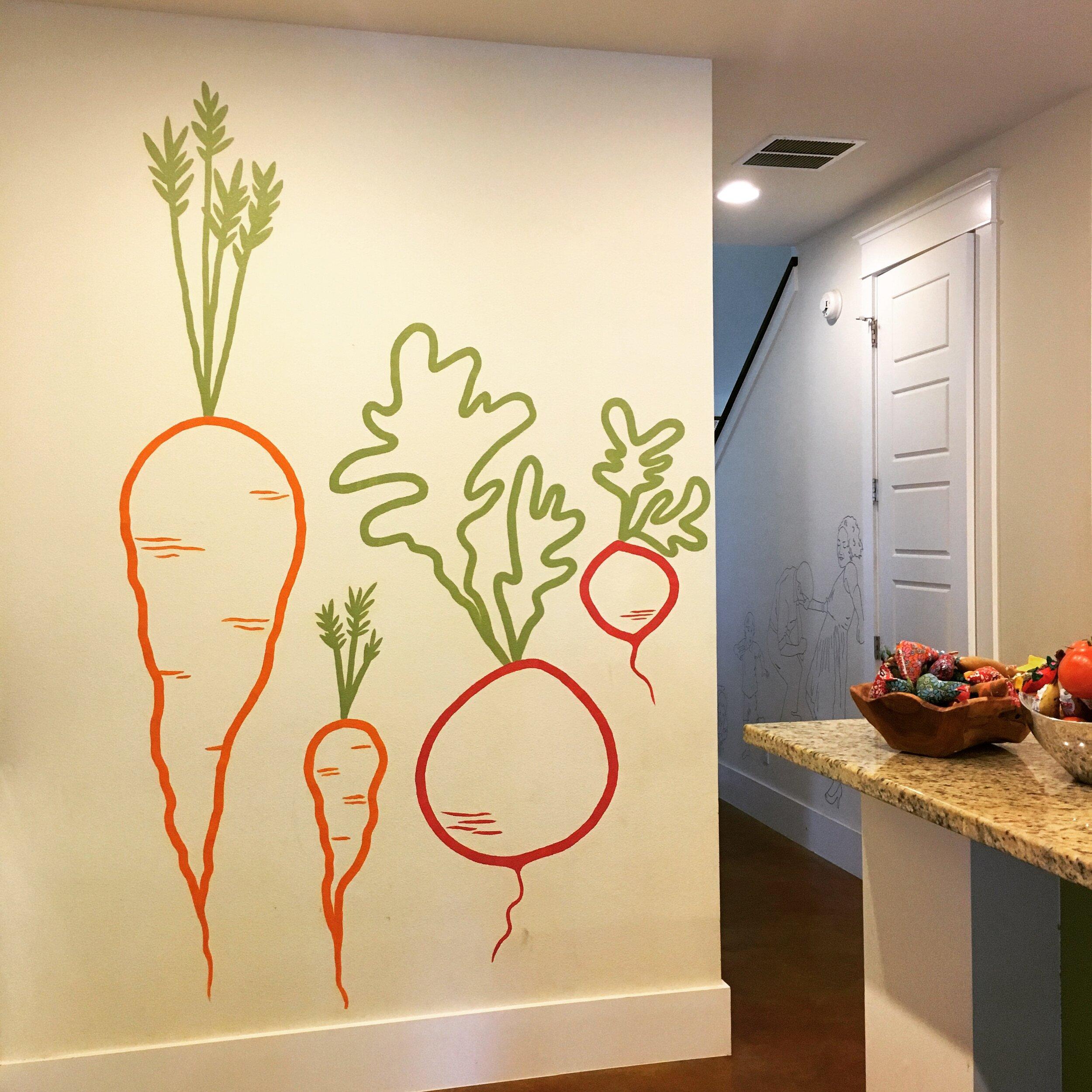 Kitchen Mural, Austin