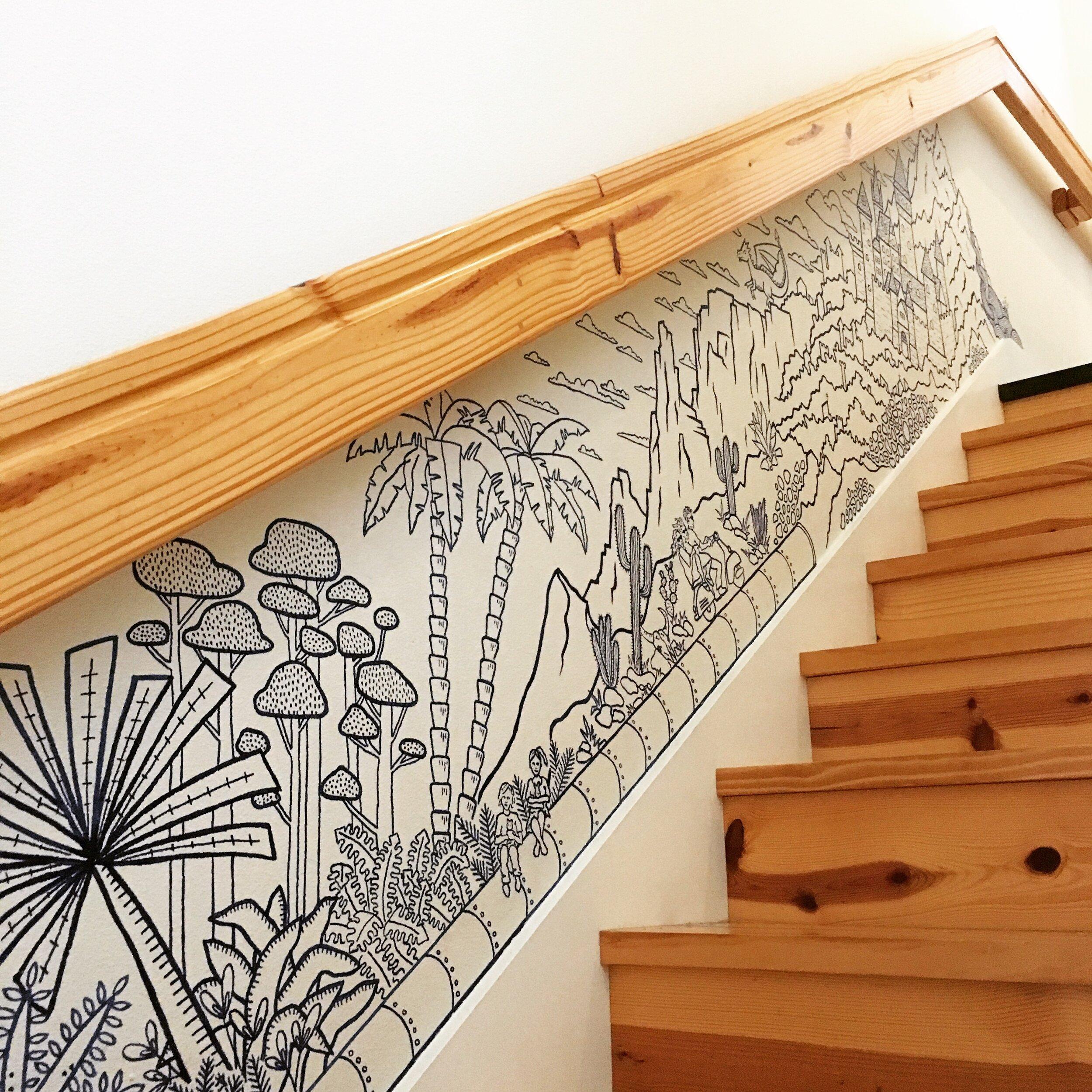 Stairway Mural, Austin