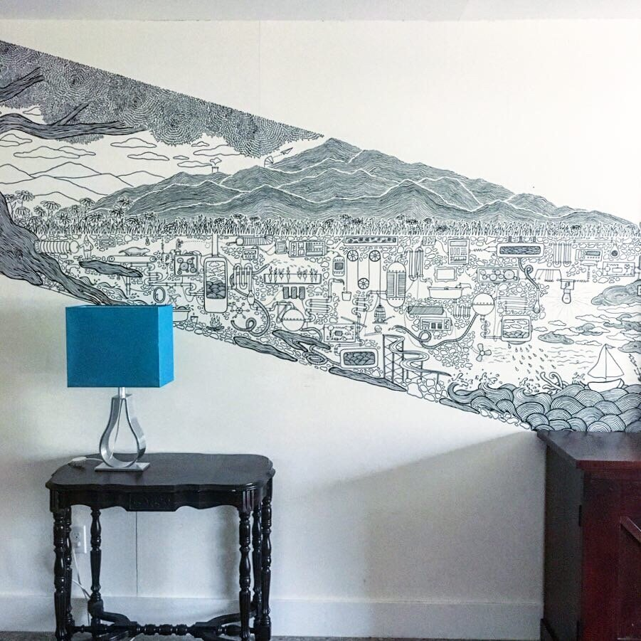 Doodle Mural, Austin