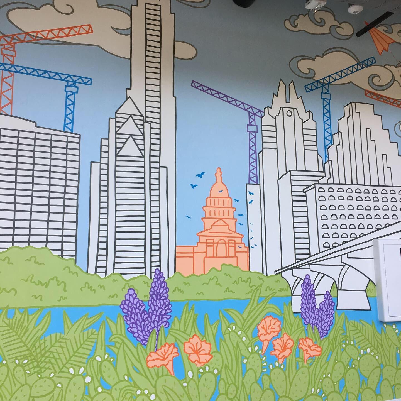 Integral Group Office Mural, Austin