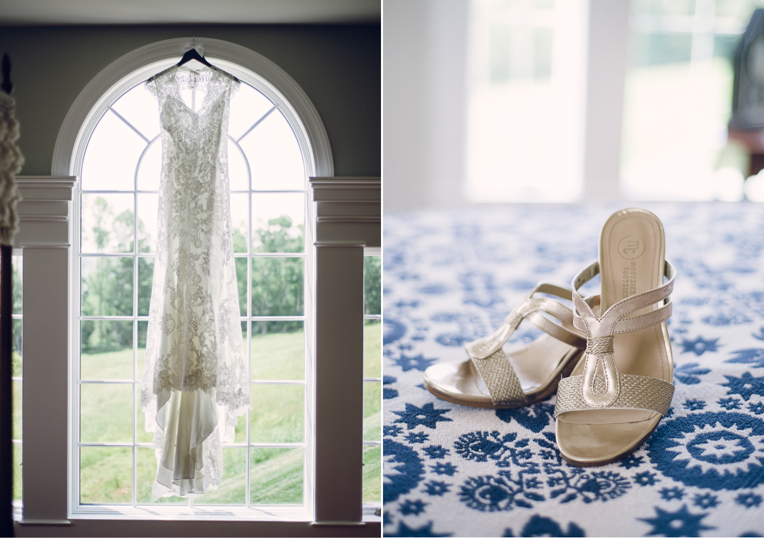 Wedding Details - Shoes and Dress