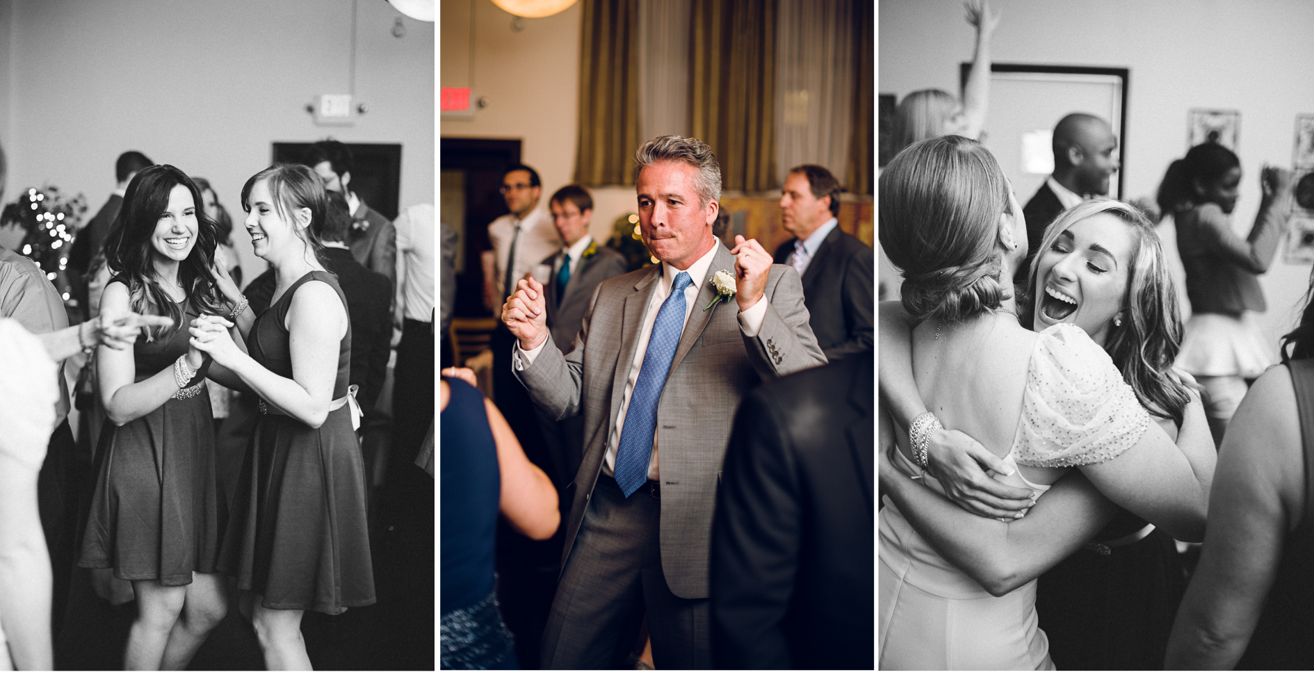 Dancing at Reception