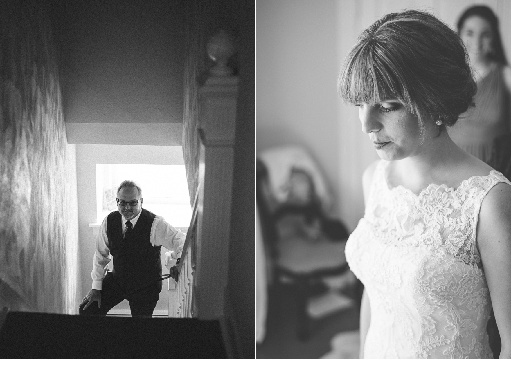 Bride with Dress