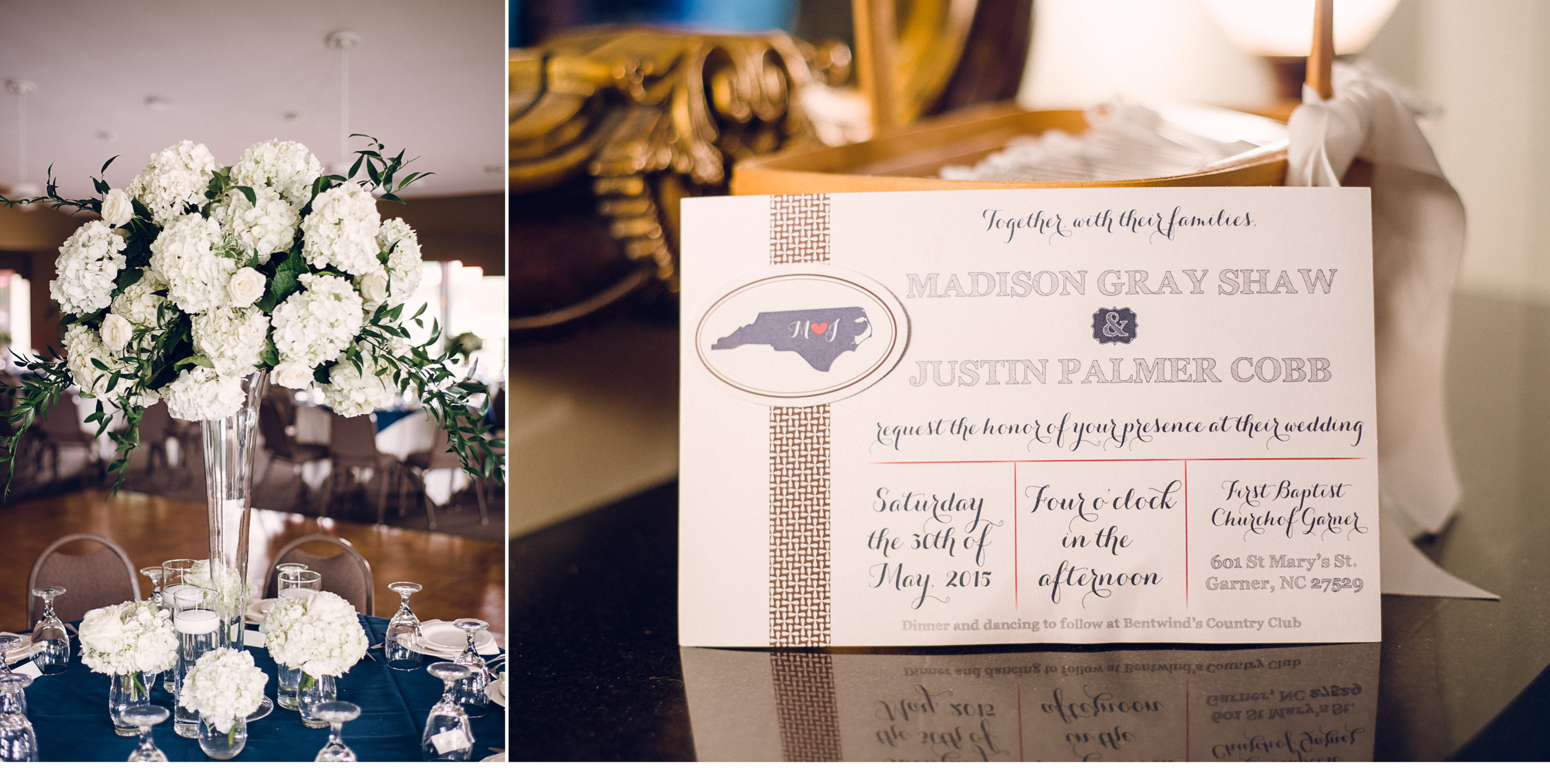 Cobb Wedding Invitation