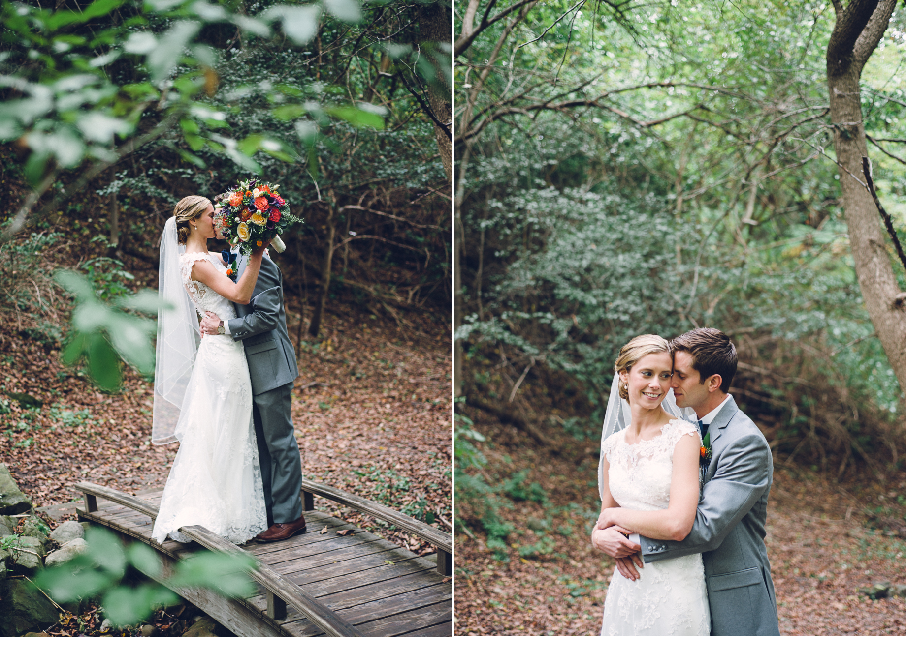 Kissing in Forest