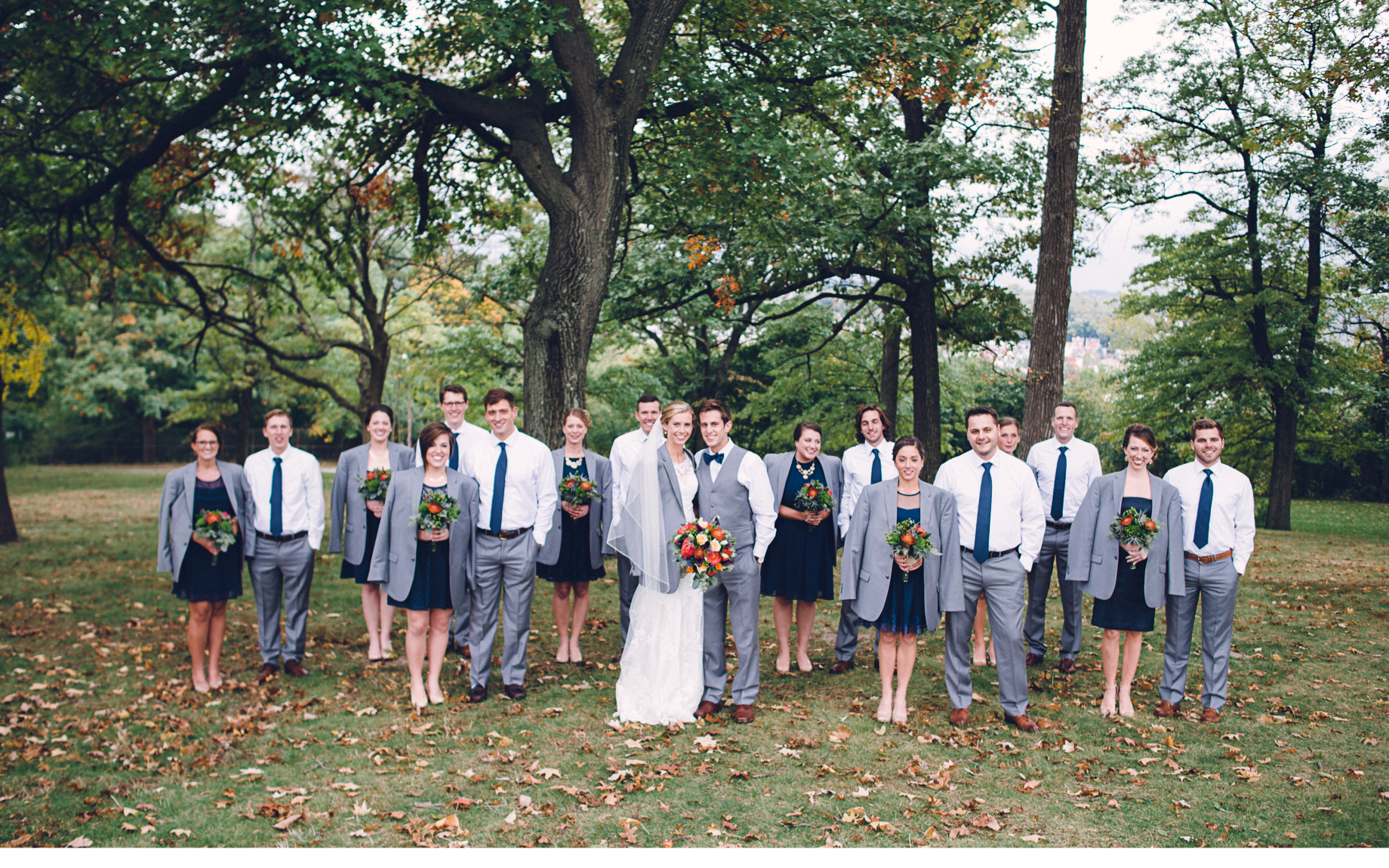 Bridal Party in Cold