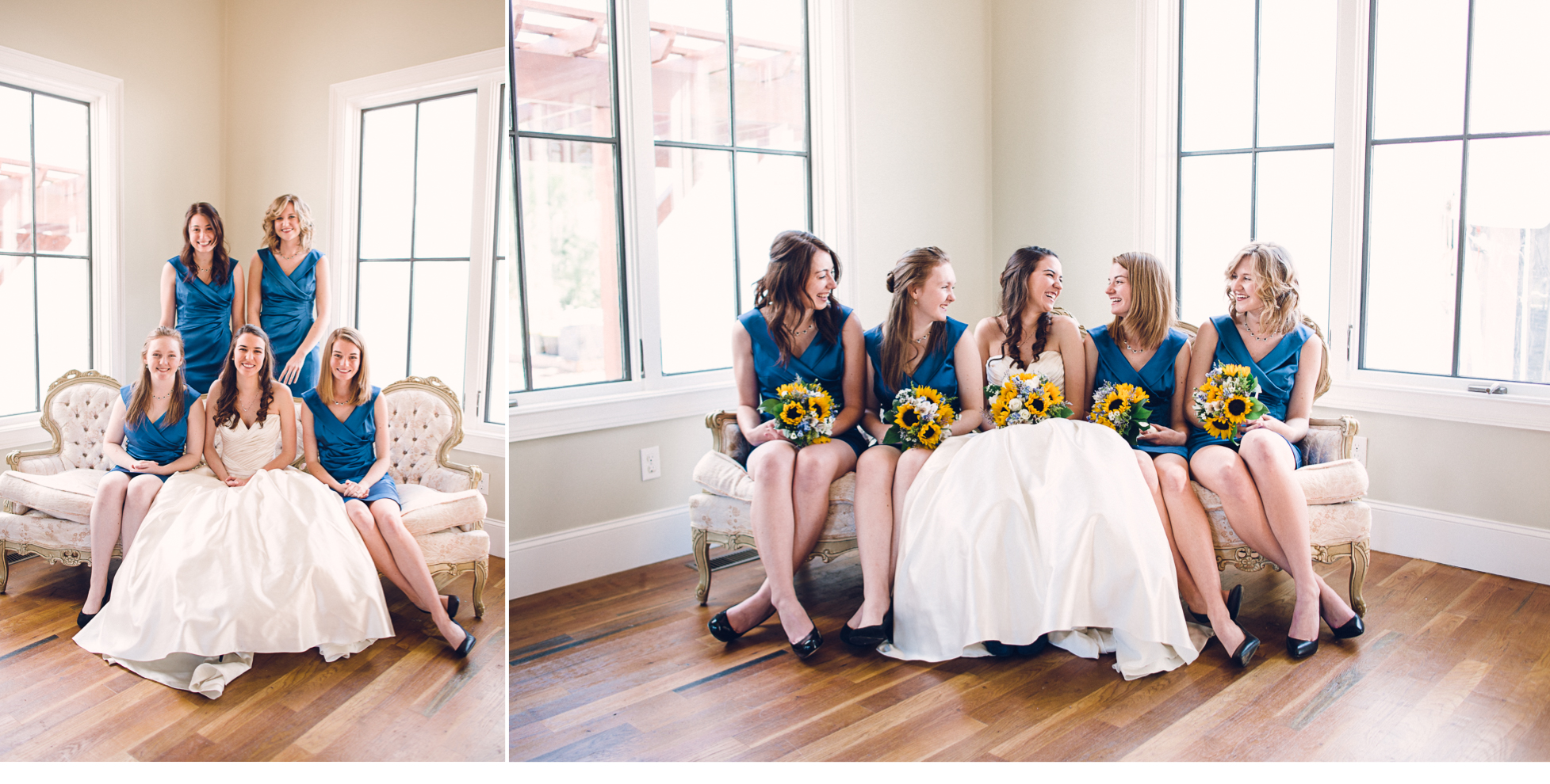 Bridesmaids in House
