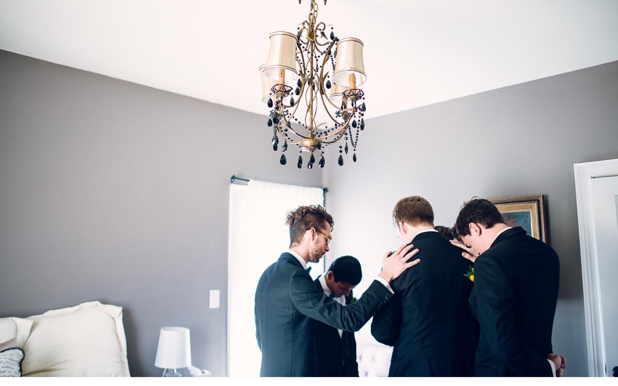 Groomsmen Prayer