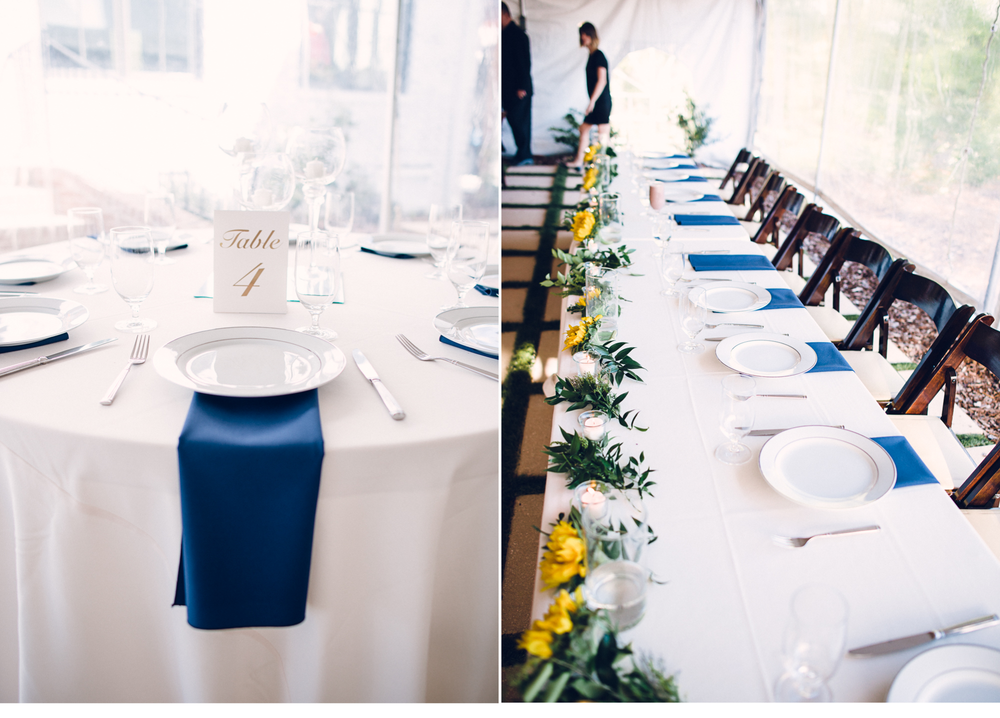 Wedding Reception Place Settings