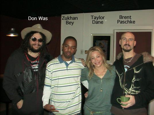 Don Was/Zukhan Bey/Taylor Dane/Brent Paschke