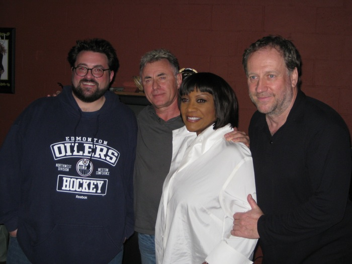 mixing engineer/producer Brian Reeves with Kevin Smith, Keith Forsey, Patti LaBelle & Harold Faltermeyer
