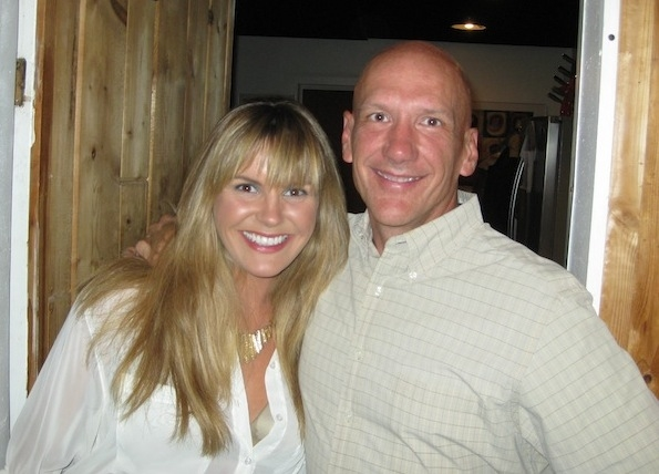 mixing engineer/producer Brian Reeves with Grace Potter