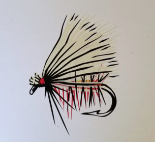 Elk Hair Caddis is April's Fly of the Month - The Elk Hair Caddis was created by Pennsylvania fly tyer Al Troth in 1957. He is considered a pioneer in the sport of fly fishing for this invention. Tie up 10 of your favorite version and bring them to the next chapter meeting.